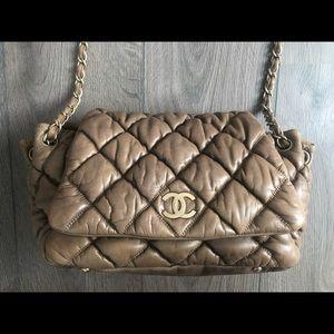 4f2ee2270fd9 CHANEL Bags | Large Bubble Quilt Flap Shoulder Bag | Poshmark